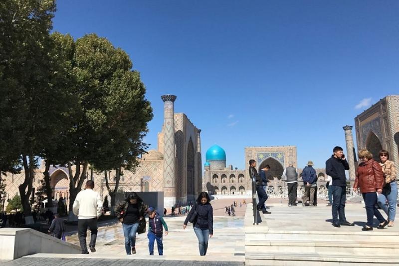 Выяснилось, насколько сократилось число туристов, посетивши Узбекистан в 2020 году