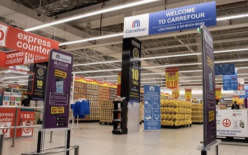Carrefour появятся в двух крупных ТРЦ Ташкента