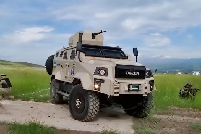В Ташобласти наладят производство военной техники