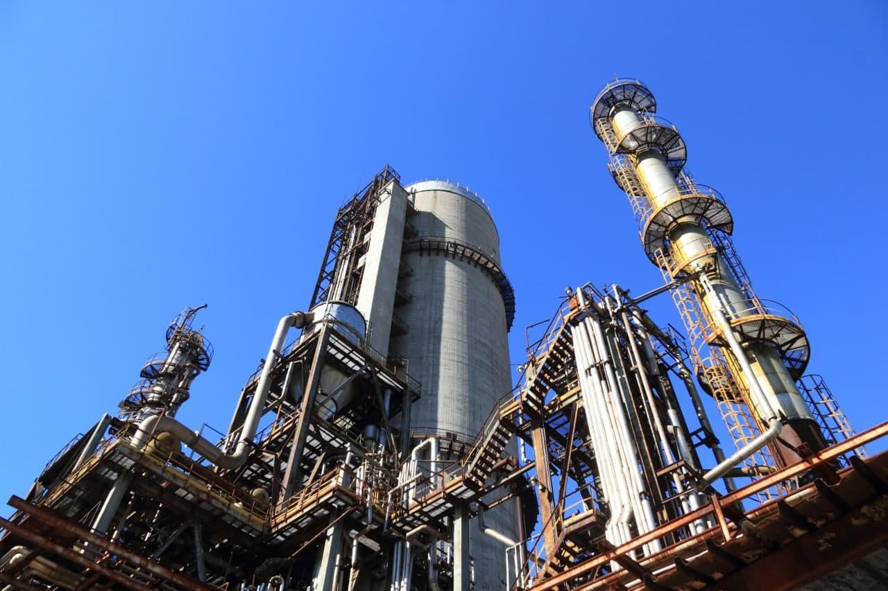 Объем промышленного производства в Узбекистане сократился на 1,2%