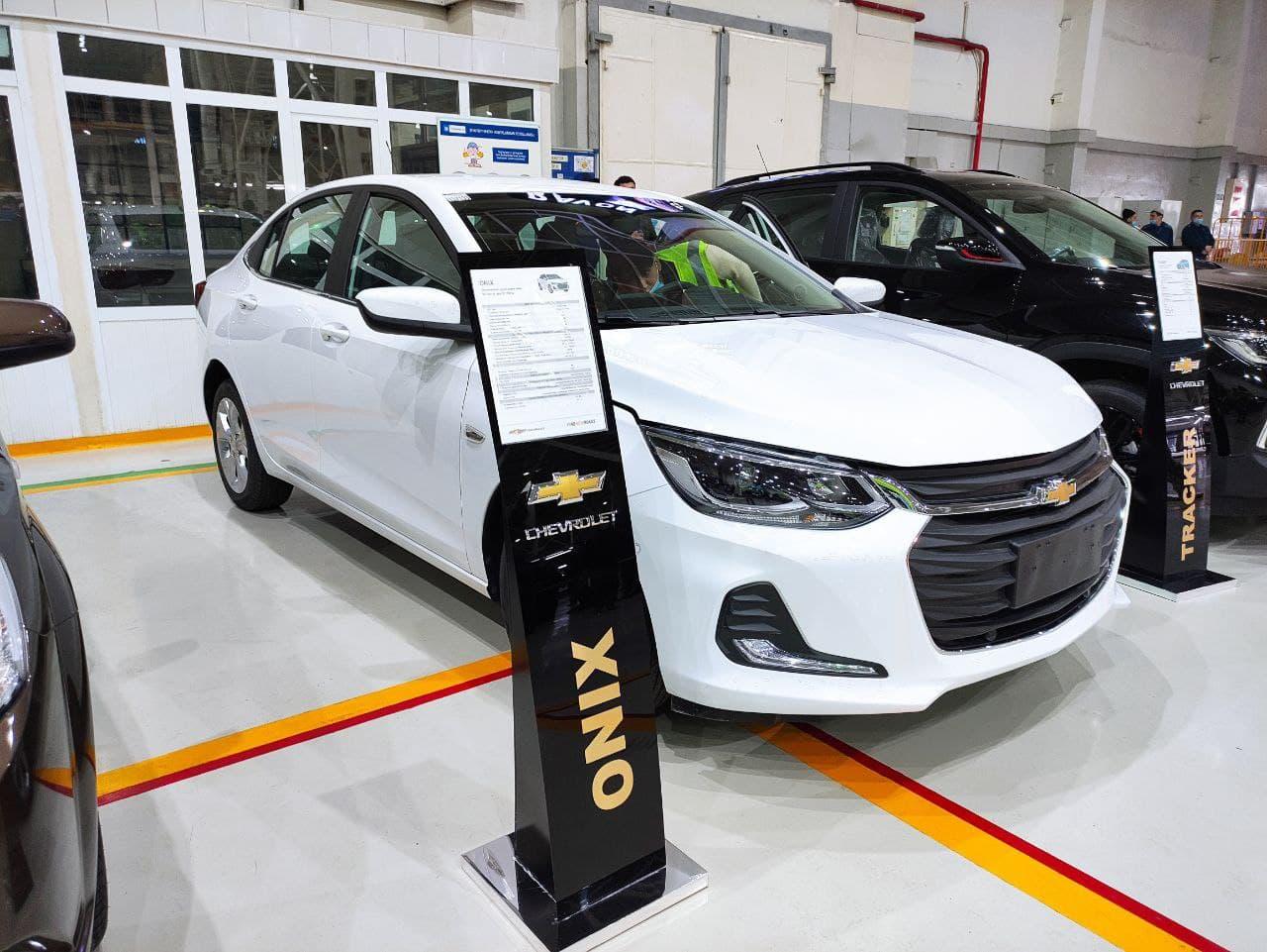 Обнародованы цены на новый Chevrolet Onix
