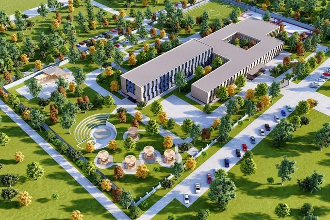 Gold Step Invest без тендера получила контракт на строительство президентской школы в Нурафшане