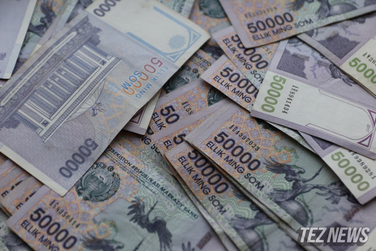 Объем кредитов в Узбекистане вырос на 10,6%