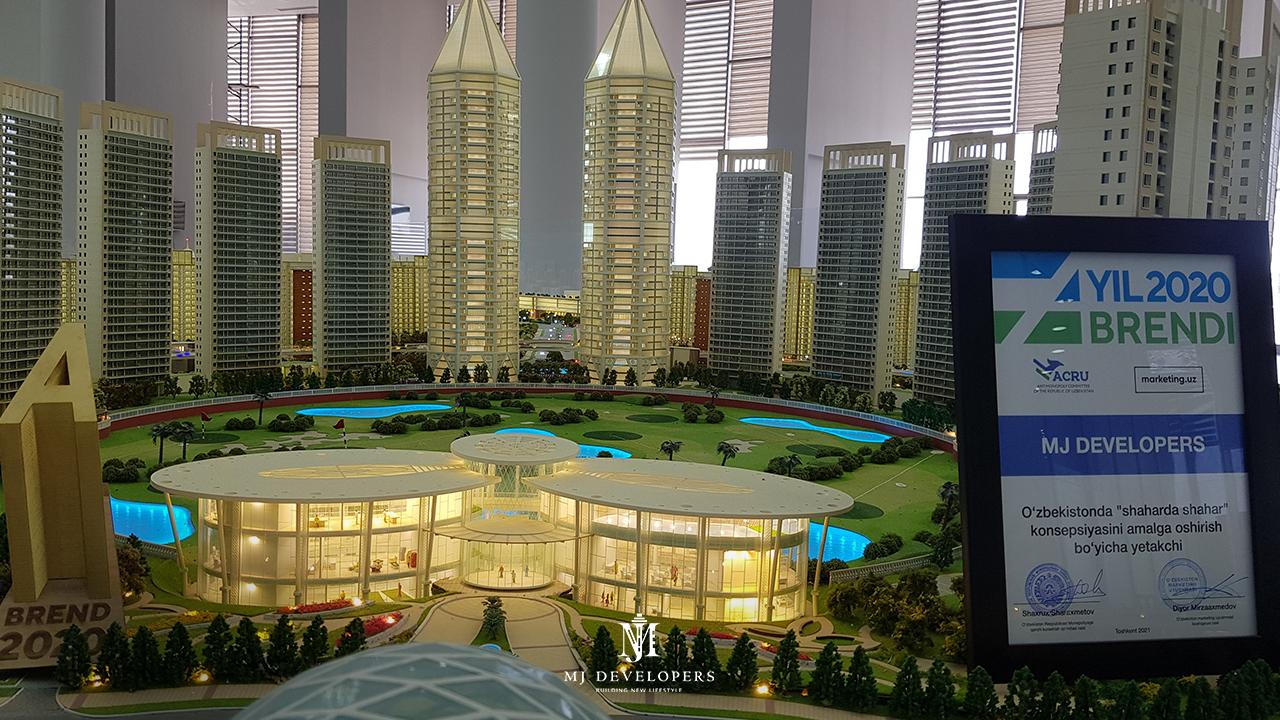 MJ Developers получила престижную награду «Бренд года 2020» за инновации в сфере недвижимости