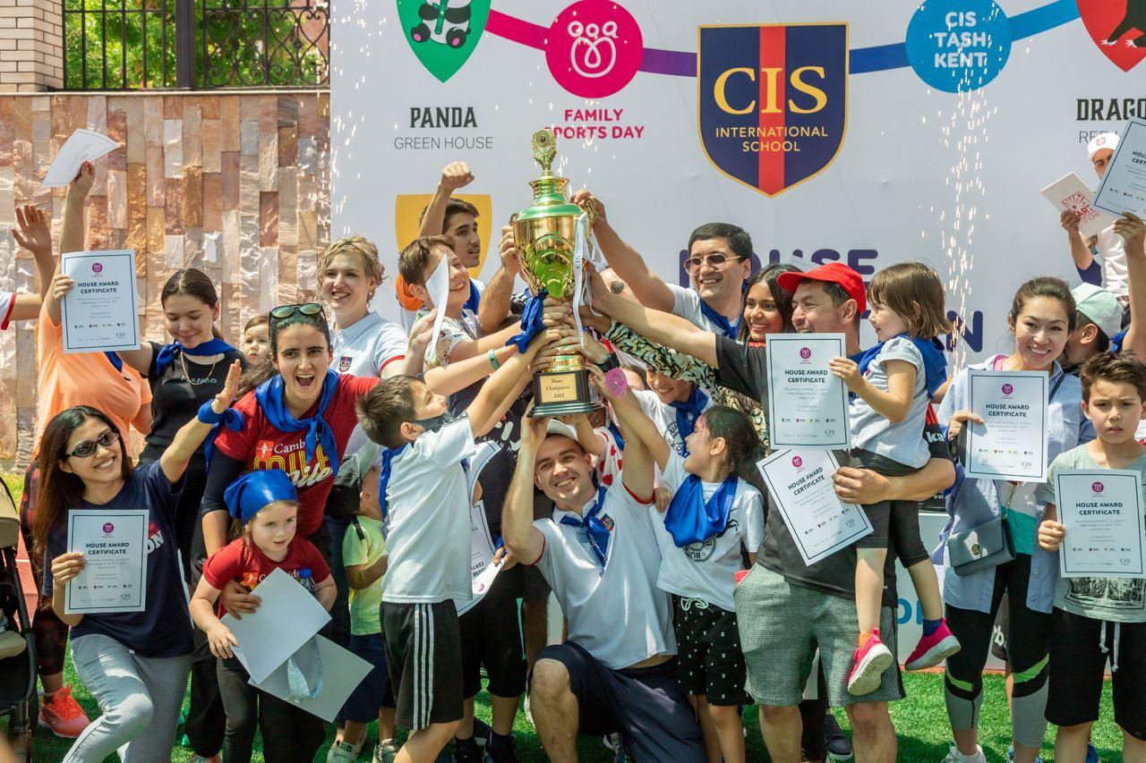 В Кембриджской Международной школе прошел семейный спортивный день — Family Sports Day