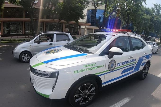 УБДД Ташкента пересаживают за электрокары