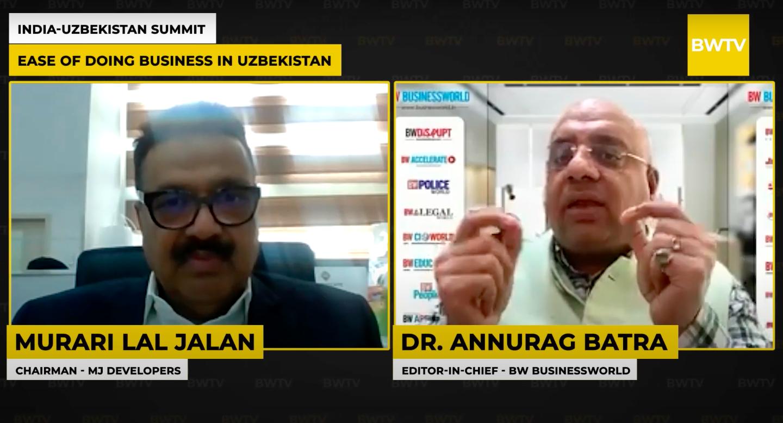 Мурари Лал Джалан высоко оценил работу президента на бизнес-саммите между Индией и Узбекистаном