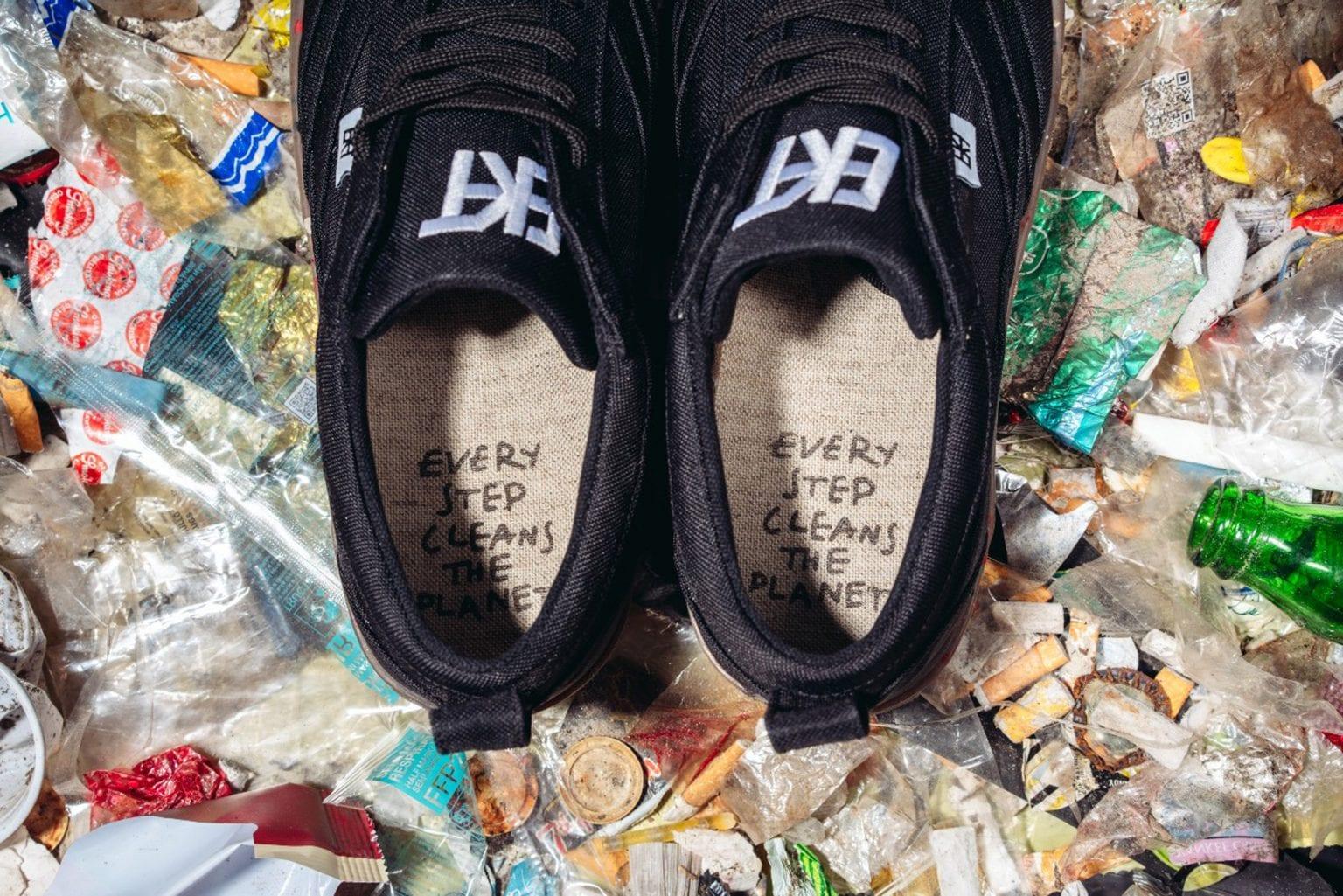 Австрийский бренд создал кроссовки, состоящие почти полностью из переработанных материалов