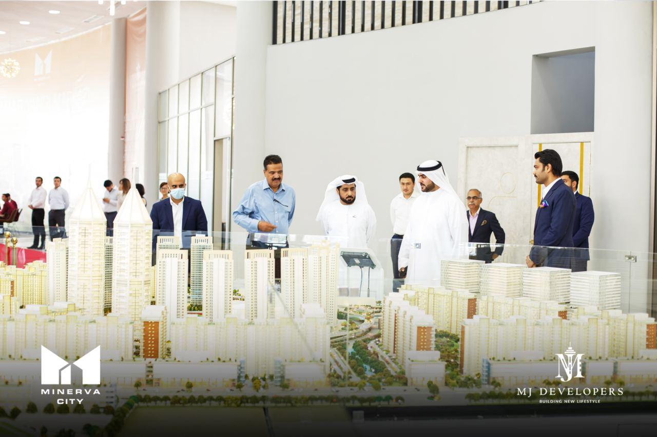 Посол ОАЭ высоко оценил проекты Minerva City и Lake City