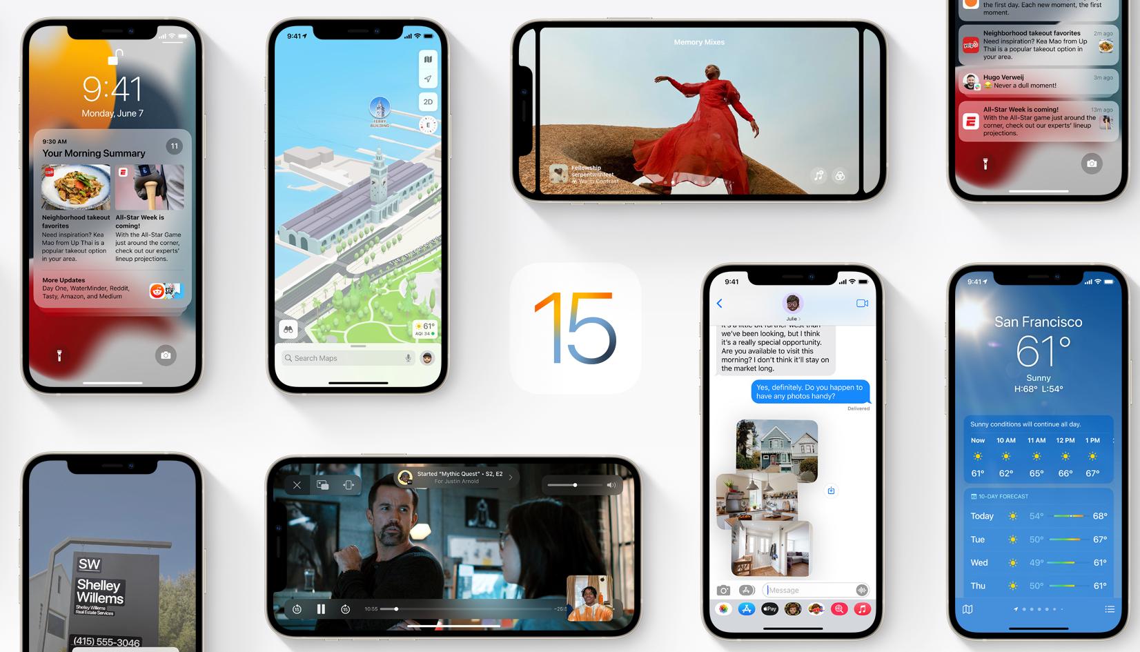 Apple позволила скачать бета-версию iOS 15