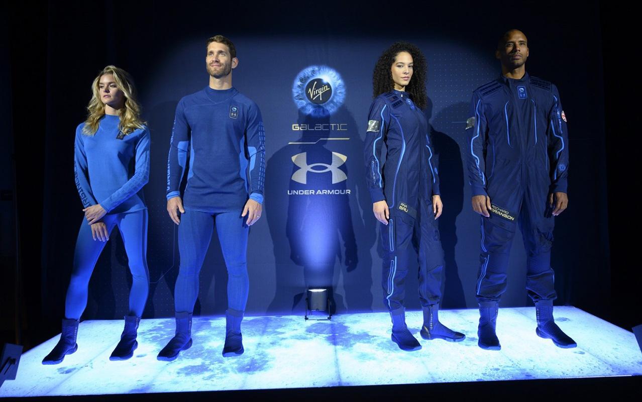 Under Armour выпустили коллекцию спортивной одежды в честь космического полета Virgin Galactic