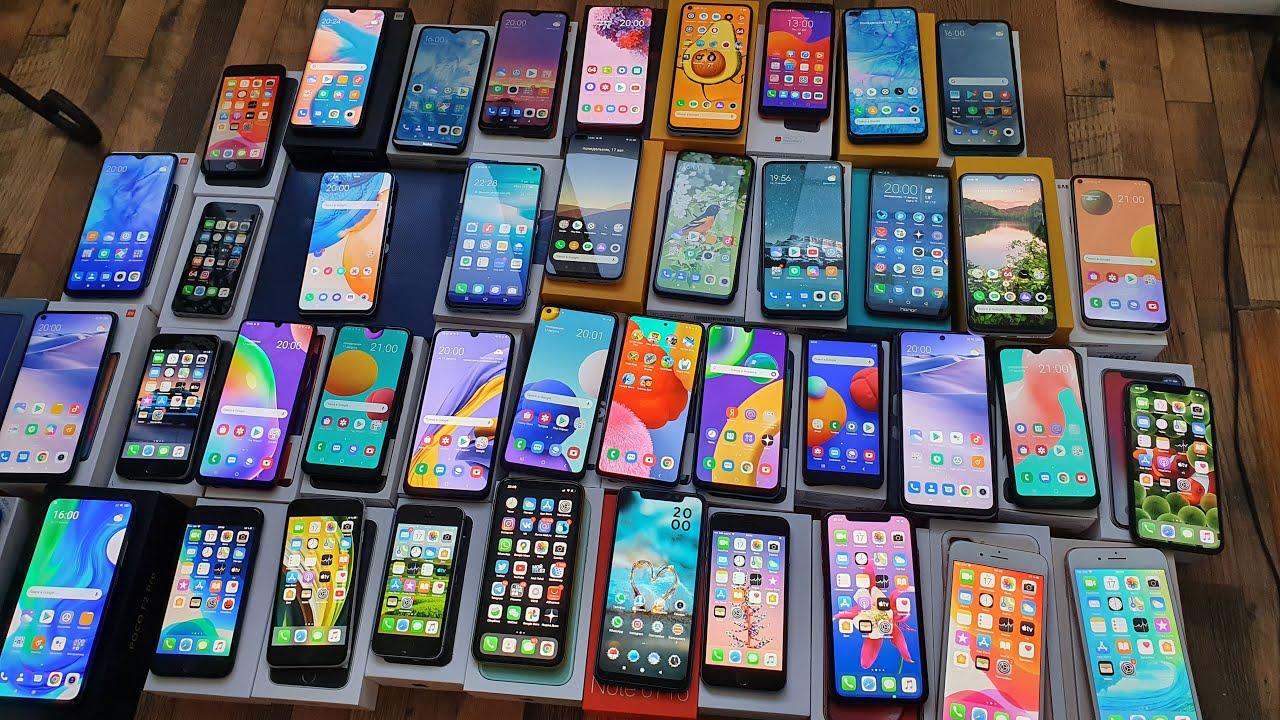 Узбекистан импортировал 1,4 млн телефонов с начала года