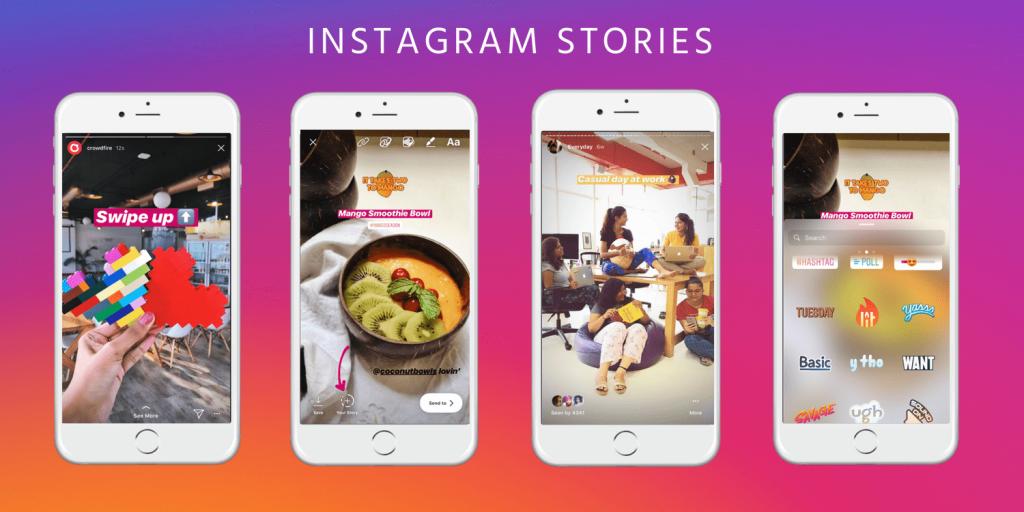 Instagram откажется от свайпа в сторис и заменит его на стикеры с 30 августа