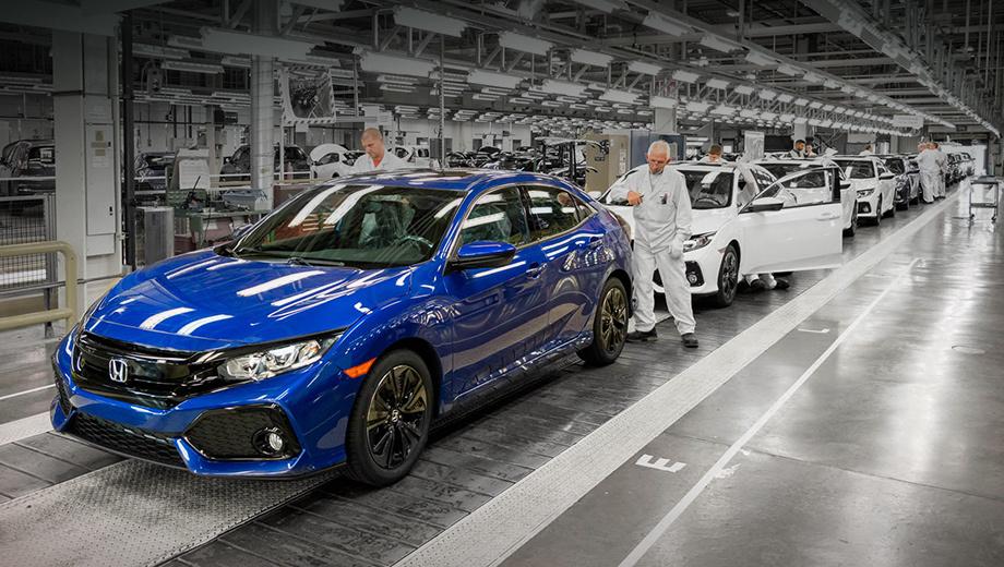 Компания Honda снизила объём производства в Японии на 60%