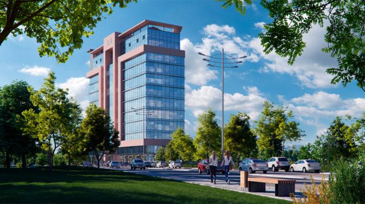 В Ташкенте началось строительство Корейско-узбекского бизнес-центра класса «А»