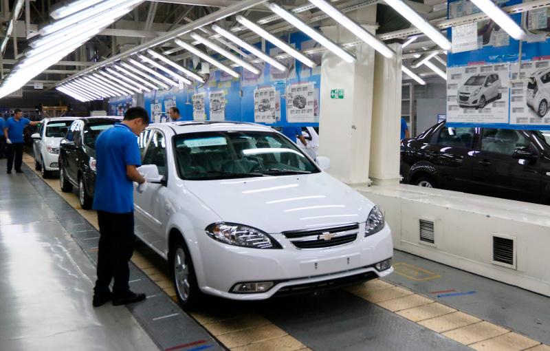 Мировой дефицит полупроводников отразился на производстве UzAuto Motors