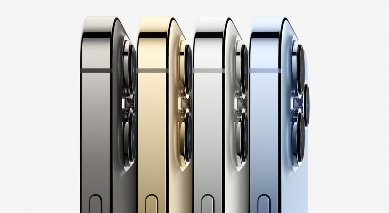 Показали новый iPhone 13 Pro. На нём можно будет снимать фильмы — цены