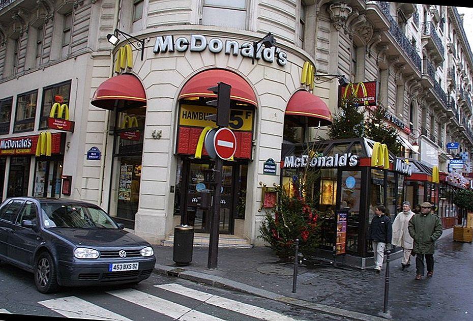 McDonald's во Франции начал продавать водопроводную воду за €2,30