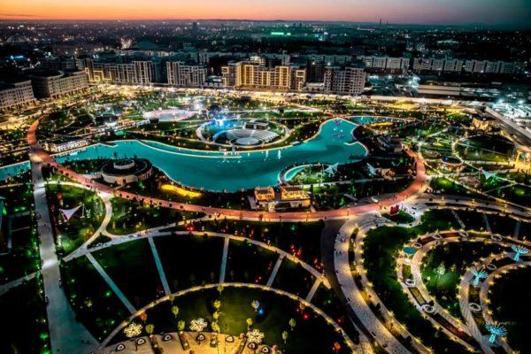 На продажу выставят парк Tashkent city